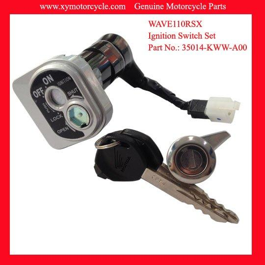 Motorcycle Key Switch For Honda WAVE110RSX 35010-KWW-A00